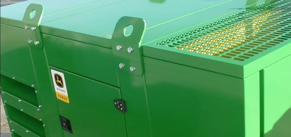 Nueva Gama Industrial de Generadores Diesel con Motor John Deere
