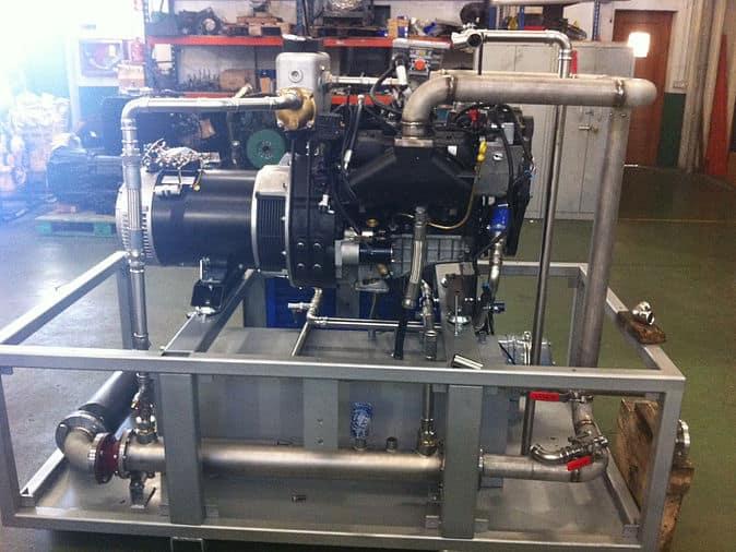 Cogeneración gas propano