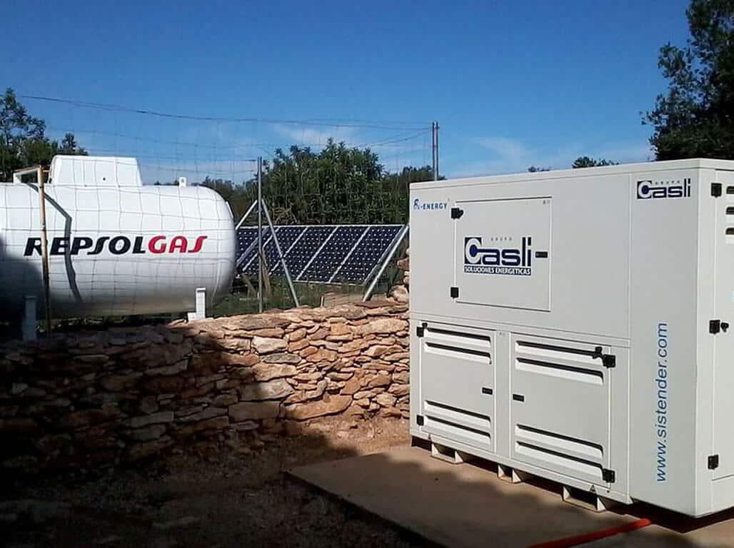 Home isolated generators