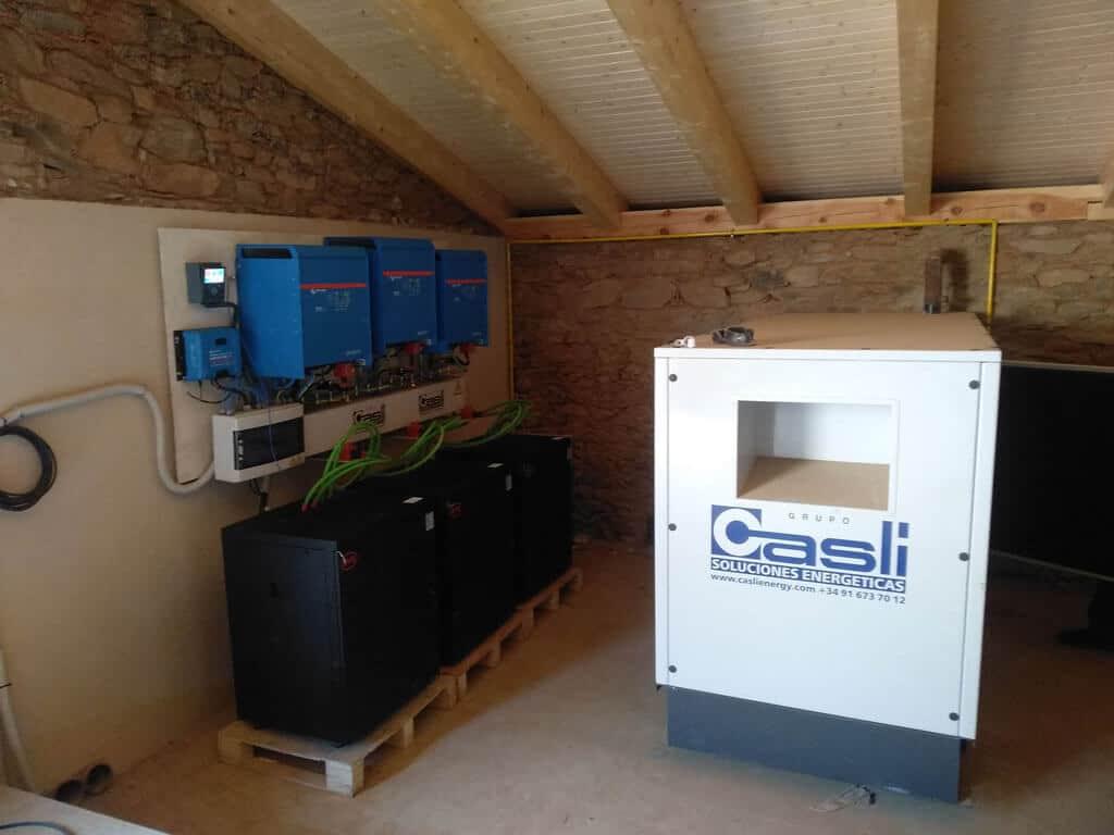 HYB-Energy, Instalación Híbrida con Baterías de Litio